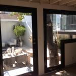 custom shape window with door